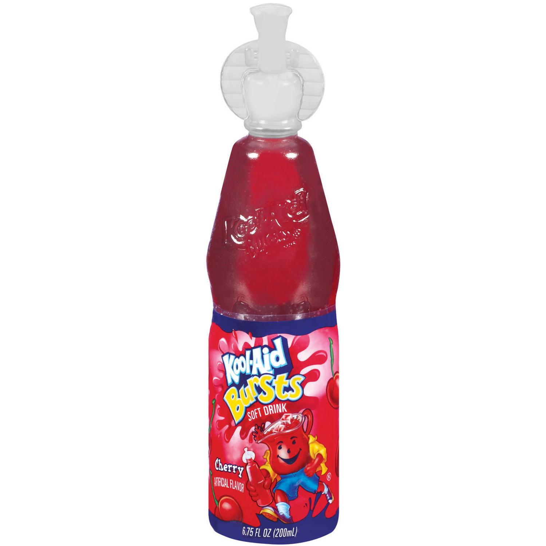 Kool-Aid Bursts Cherry Soft Drink - 6.75 fl oz Bottle image