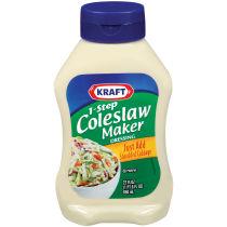 Kraft 1-Step Coleslaw Maker Dressing 22 fl oz Bottle
