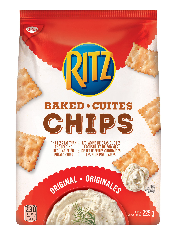 Chips Ritz Cuites Originales 225 G
