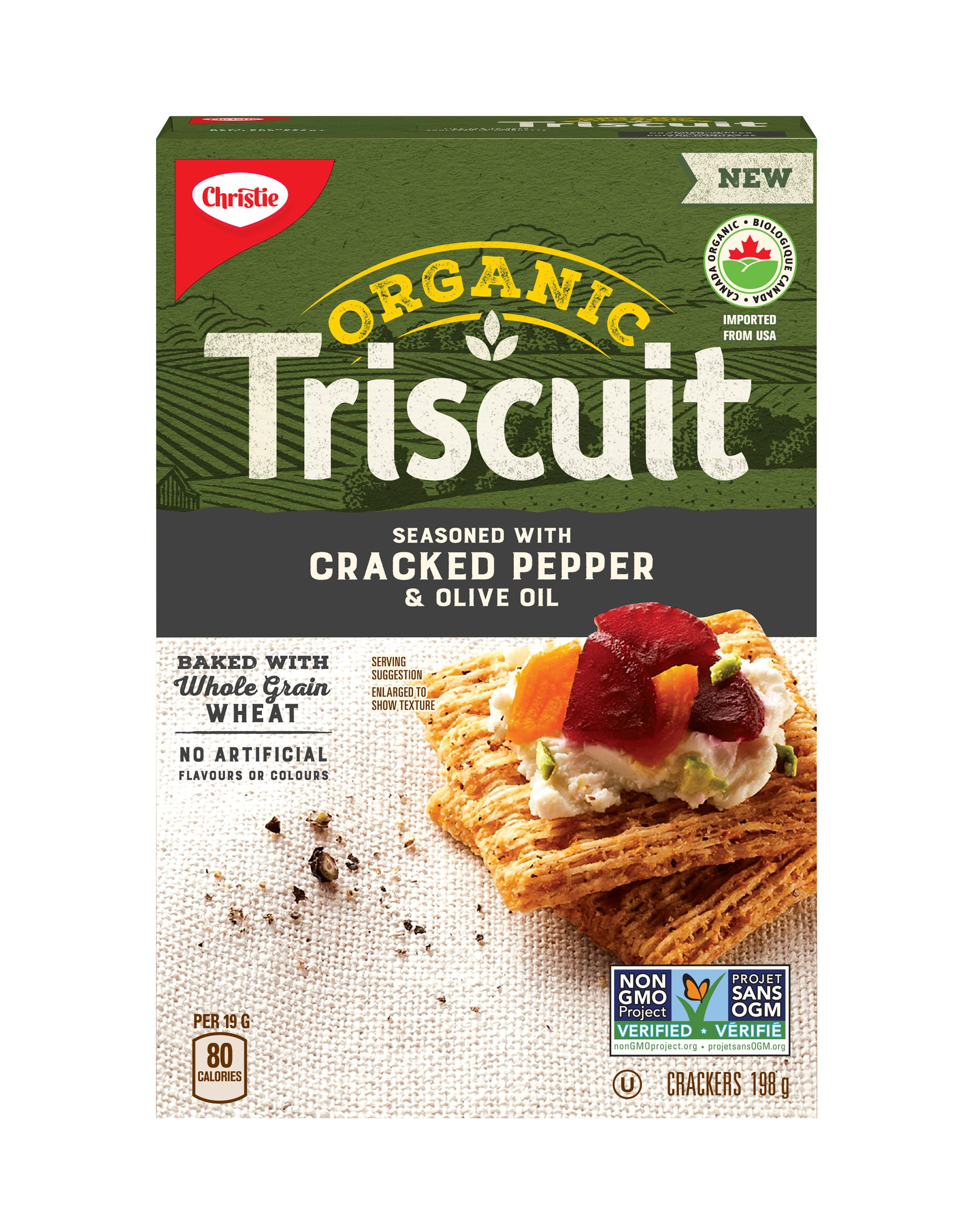 Triscuit Cracked Pepper Crackers 198 G