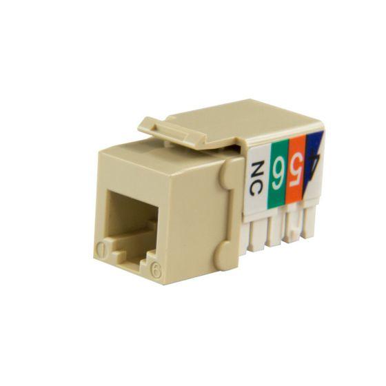 Ivory Cat3 Keystone Voice Jack Wave Electronics