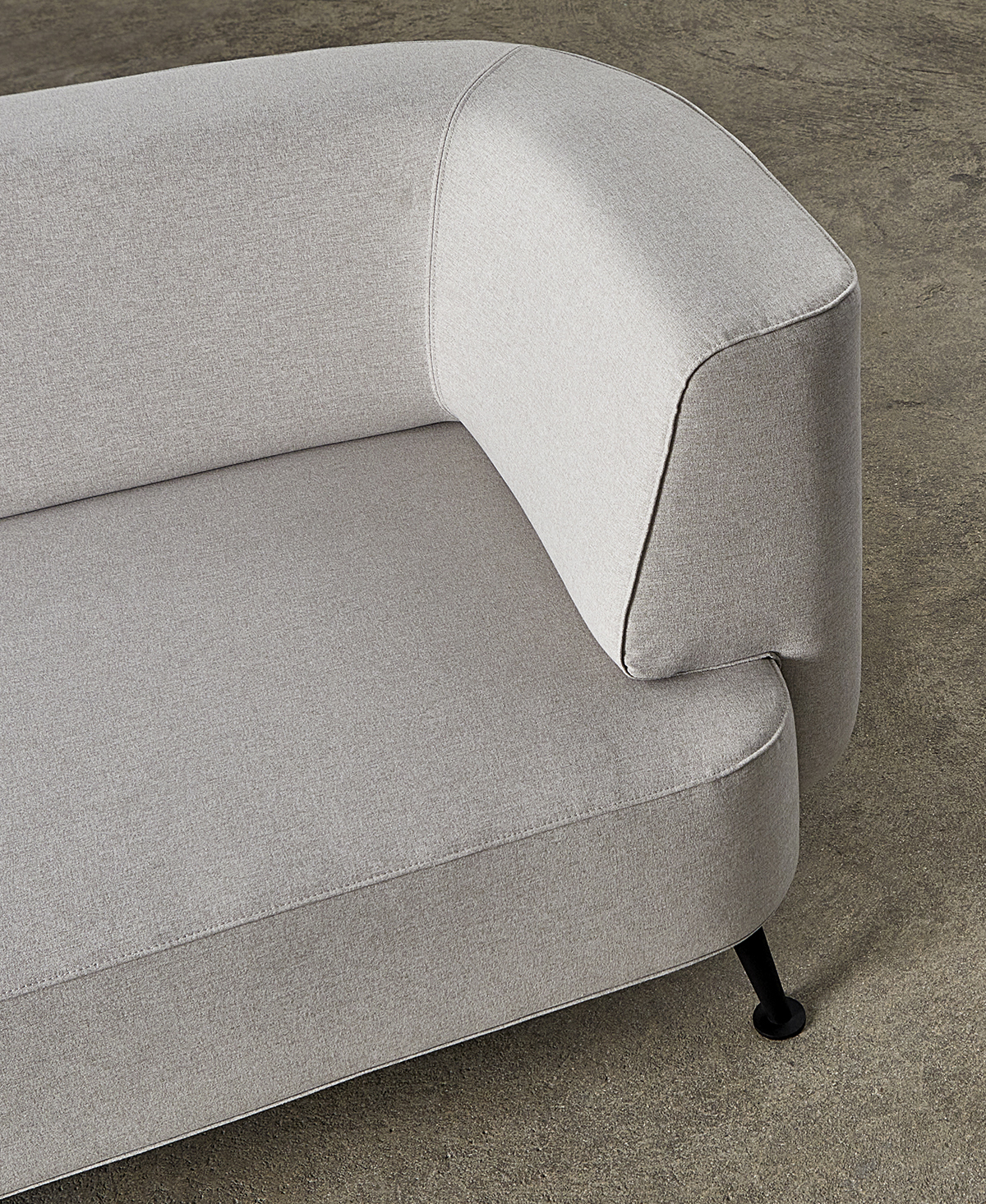 Tight Curved Back and Seat