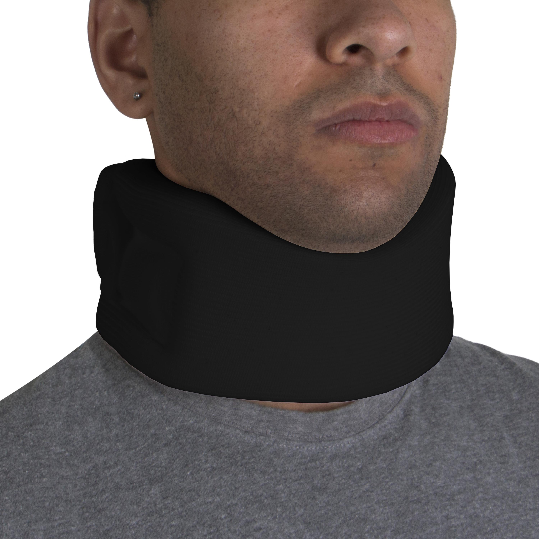 BLACK FOAM CERVICAL COLLAR / SOFT