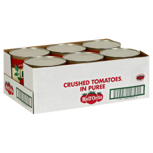 Bell'Orto Crushed Tomato Puree Tin, 6 lb. image