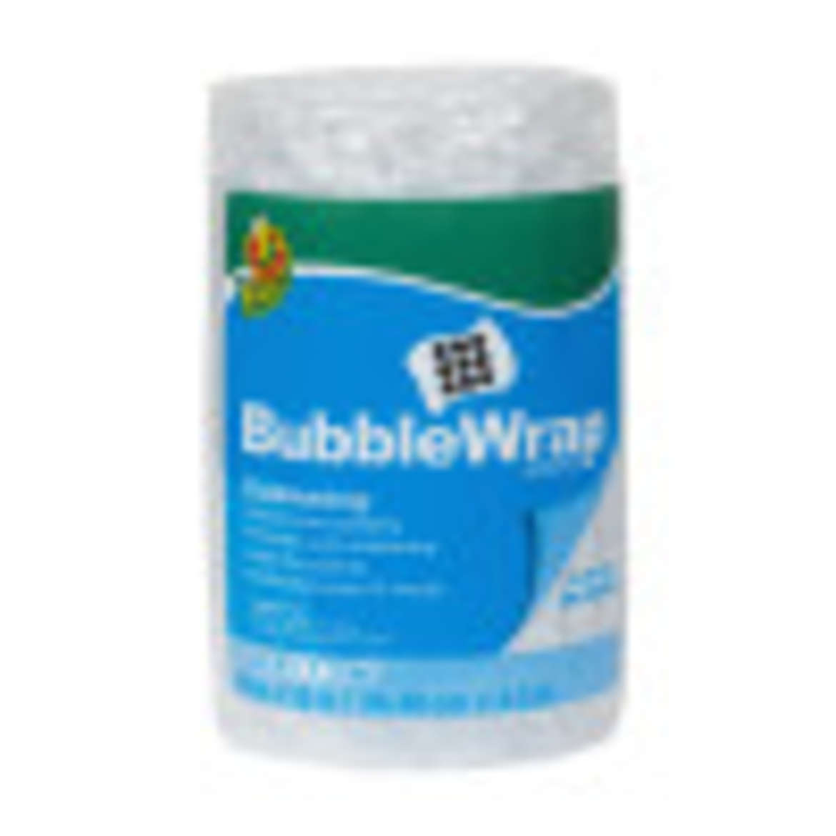Duck® Brand Large Bubble Wrap® Cushioning - Clear, 12 in. x 15 ft. Image