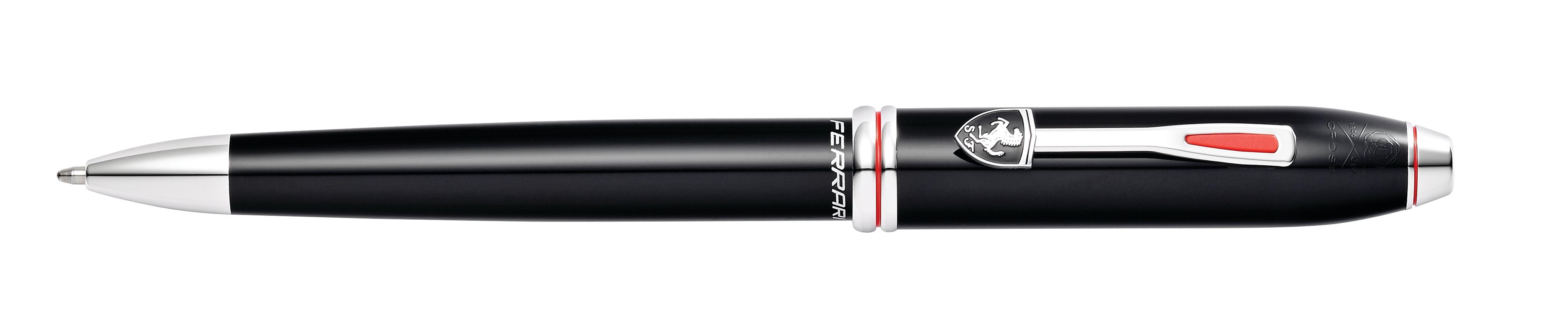 Cross Townsend Collection for Scuderia Ferrari Glossy Black Lacquer Ballpoint Pen