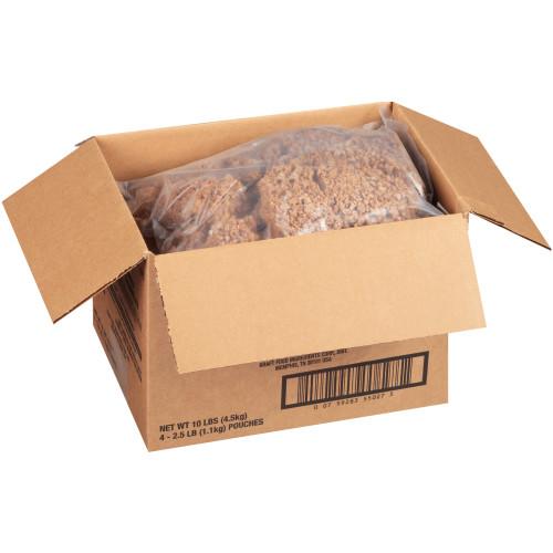 BOCA Vegan Ground Crumbles, 2.5 lb. Bag (Pack of 4)
