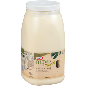 KRAFT Bulk Mayonnaise with Olive Oil, 1 gal. Jug (Pack of 4) image