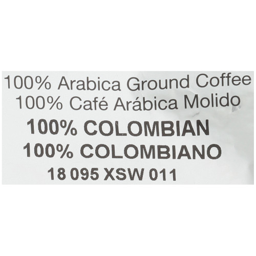 CAFÉ COLLECTIONS 100% Colombian Roast & Ground Decaf Coffee, 2 oz. Bag (Pack of 96)