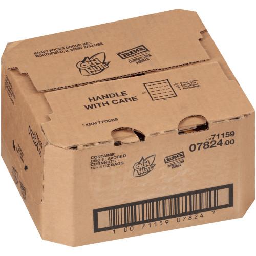 CORNNUTS BBQ Crunchy Corn Kernels, 4 oz. Bag (Pack of 12)