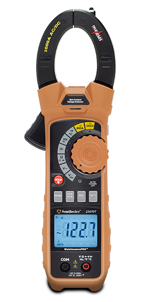 CLAMP METER, MAINTPRO 23070T