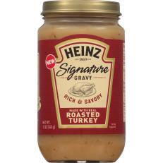 Heinz Signature Roasted Turkey Gravy, 12 oz Jar image