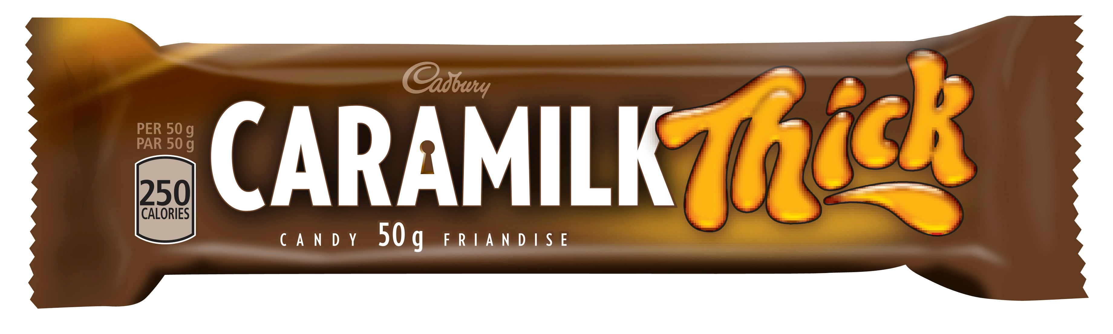 Caramilk Thick Chocolate Bar 50 G