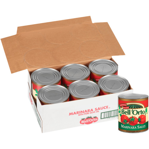 BELL ORTO Marinara Sauce, 105 oz. Can (Pack of 6)