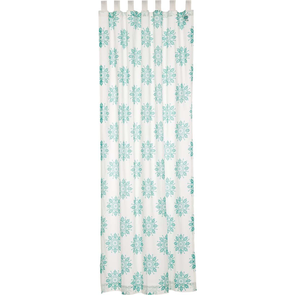 Mariposa Turquoise Panel 96x50