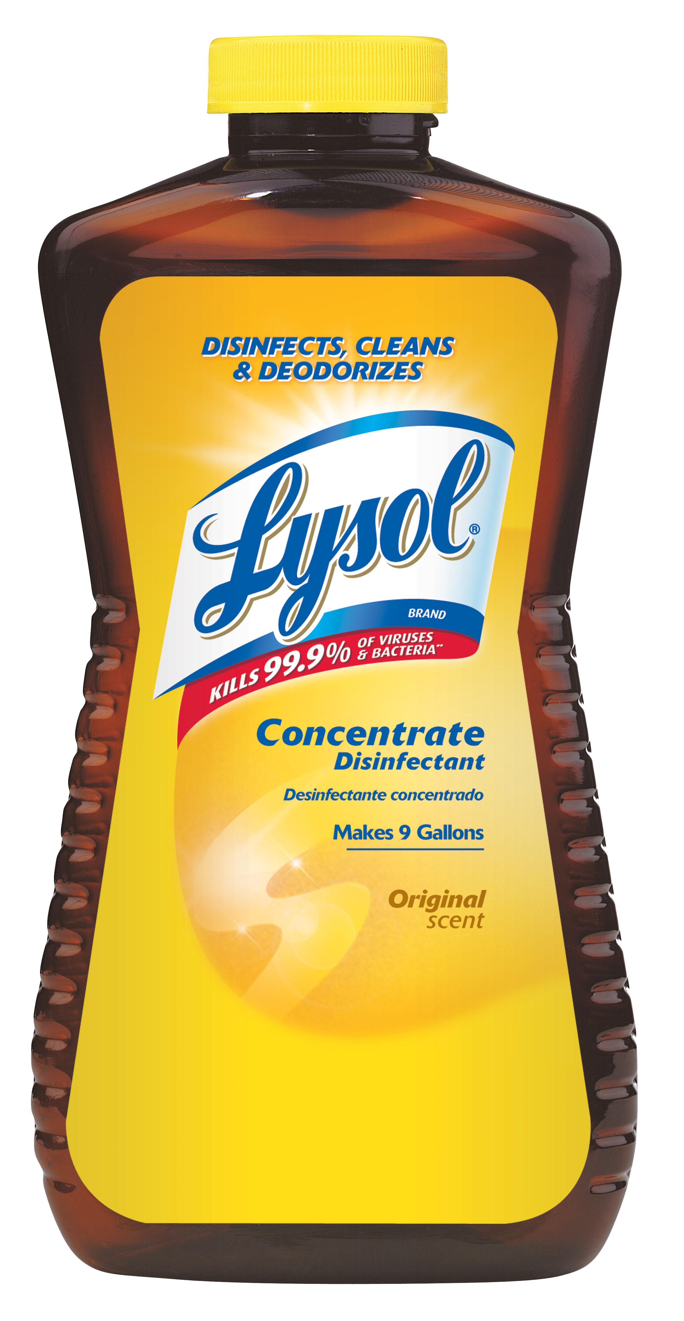 Lysol Disinfectant Concentrate Original Scent, 12oz