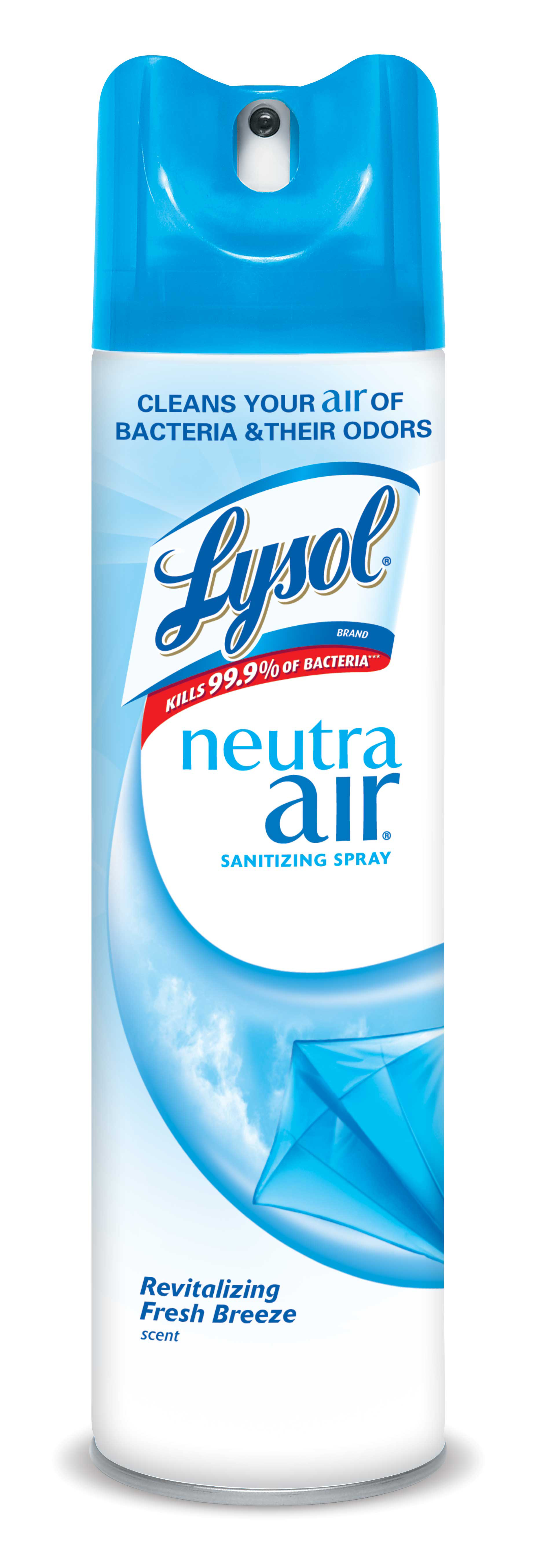 Lysol Neutra Air Sanitizing Spray, Fresh Breeze, 10oz, Air Freshener, Odor Neutralizer
