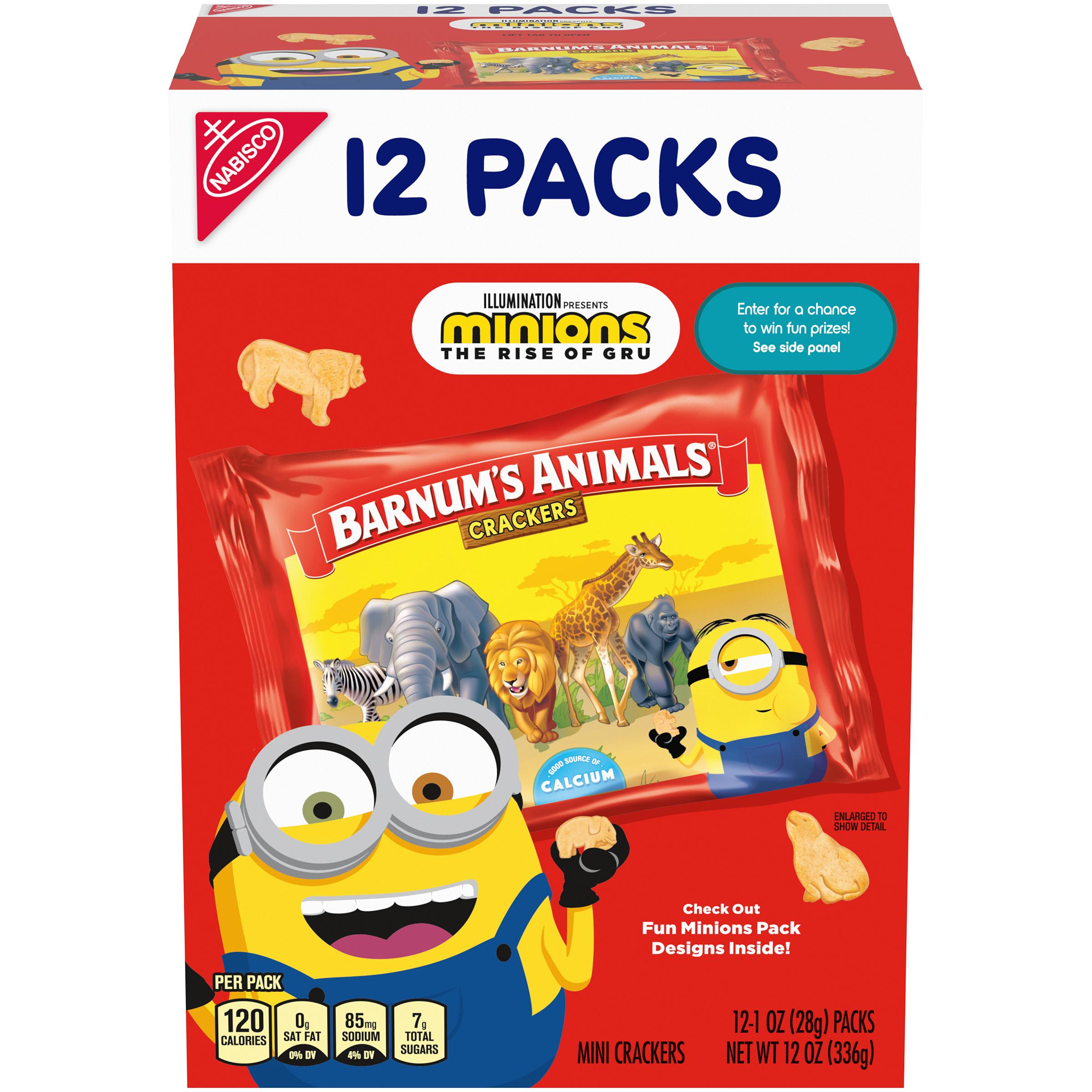 BARNUMS Multipack Crackers 12 oz