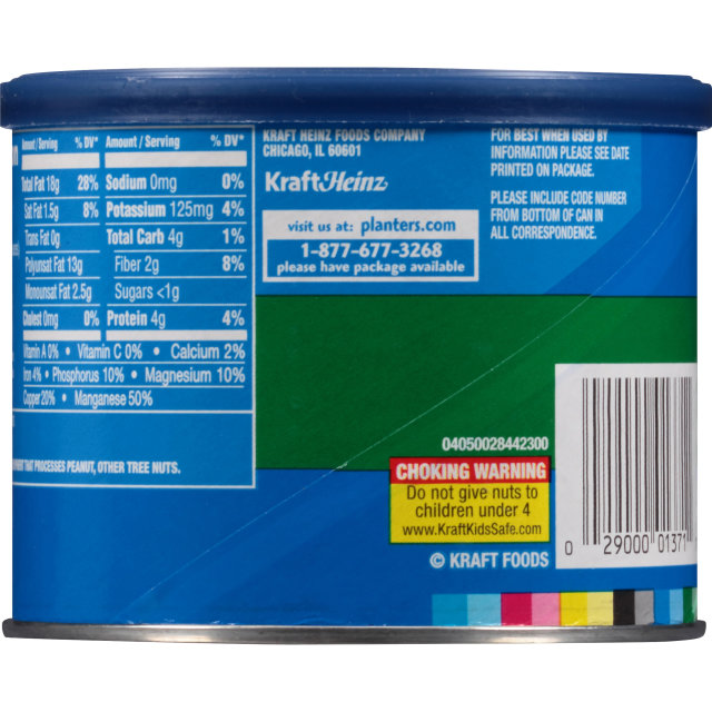 PLANTERS Walnut Halves 7.25 oz Can
