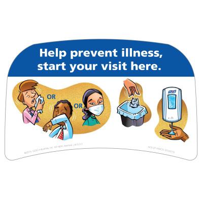 Hand Hygiene Awareness Sign