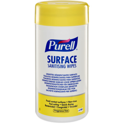 PURELL® Surface Sanitising Wipes