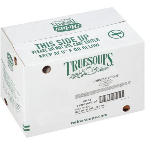 HEINZ TRUESOUPS Lobster Bisque Soup, 8 lb. Bag (Pack of 4)