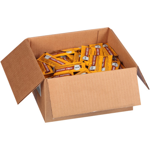 HEINZ Single Serve Honey Mustard Dressing, 12 gr. Packets (Pack of 200)