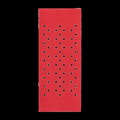 93 x 185mm  Hook & Loop Multihole Sanding Sheet 120G (10-Pack)