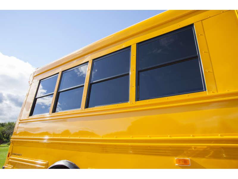 School Bus Windows