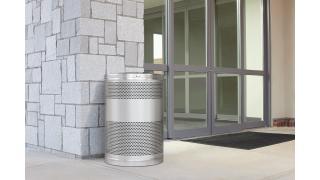 FGS55SSTSSPL-rcp-decorative-refuse-classics-stainless-steel-healthcare-outdoor-in-use.tif