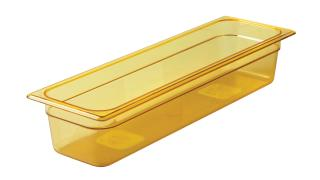 fg240p00ambr-rcp-food-service-food-storage-half-size-long-pan-hot-24in-amber-angle.tif