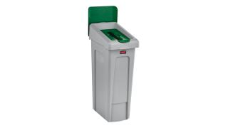 2007886-rcp-utility-refuse-slim-jim-recycling-solutions-base-lid-insert-paper-billboard-green-angle.tif