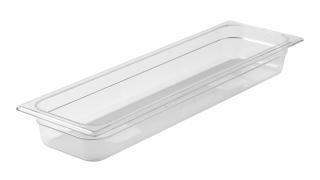 fg139p00clr-rcp-food-service-food-storage-half-size-insert-pan-2.5in-clear-angle.tif