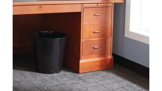 FGWB26BK-rcp-refuse-wastebaskets-steel-open-top-26qt-black-in-use.tif