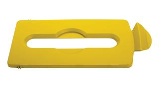 2007882-rcp-utility-refuse-slim-jim-recycling-solutions-lid-insert-paper-yellow-primary.tif