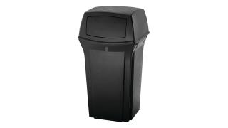 fg843088bla-rcp-decorative-refuse-ranger-container-35g-black-angle.tif