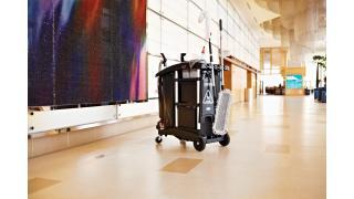 Executive Ultra Compact Housekeeping Cart High Capacity