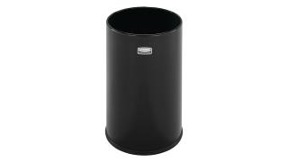 FGUB1900EBK-rcp-refuse-steel-receptacles-crowne-euro-metallic-ub1900-black-primary.tif