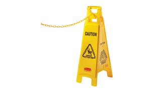 fg618400yel-rcp-cleaning-solutions-safety-plastic-chain-yellow-angle-2.tif