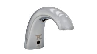 Oneshot 174 Foam Dispenser Low Profile Metal Polished Chrome
