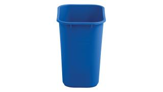 2031824-rcp-utility-refuse-recycling-series-wastebasket-28quart-blue-straight-on.tif