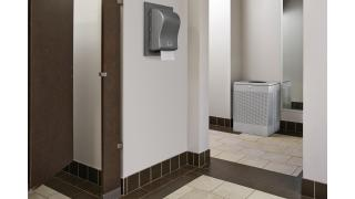 FGSC22EPLSM-rcp-decorative-refuse-silhouette-silver-metallic-restroom-in-use.tif