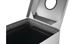 FGDCR24CSM-rcp-refuse-silhouette-recycling-dcr24-silver-metallic-lid-only-open-hinged-top-detail.tif