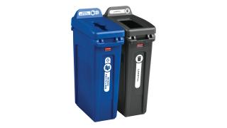 rcp-utility-refuse-recycling-series-slim-jim-23gal-with-lid-mixed-recycling-blue-open-top-black-angle-group.tif