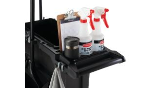 2032953-rcp-slim-jim-compact-cleaning-cart-black-23g-black-slim-jim-detail-shot-checklist-in-checklist-hold.tif