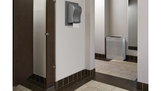 FGSR18EPLSM-rcp-decorative-refuse-silhouette-silver-metallic-restroom-in-use.tif