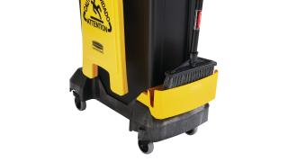 2032954-rcp-slim-jim-compact-cleaning-cart-yellow-23g-black-slim-jim-detail-of-lower-tray.tif
