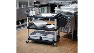 MH_Xtra Service Cart_Bus_Totes_Utility_Bin_In-Use_BOH_Kitchen_FG409100BLA_v2.tif