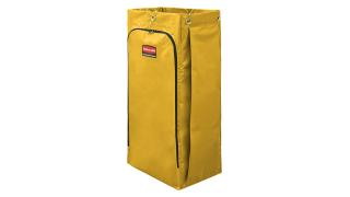 1966881-rcp-cleaning-cart-vinyl-bag-34-gal-yellow-silo-angle 1.tif