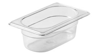 fg100p00clr-rcp-food-service-storage-ninth-size-cold-pan-2.5in-clear-angle.tif